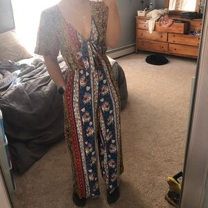 Band of Gypsies patterned pant suit